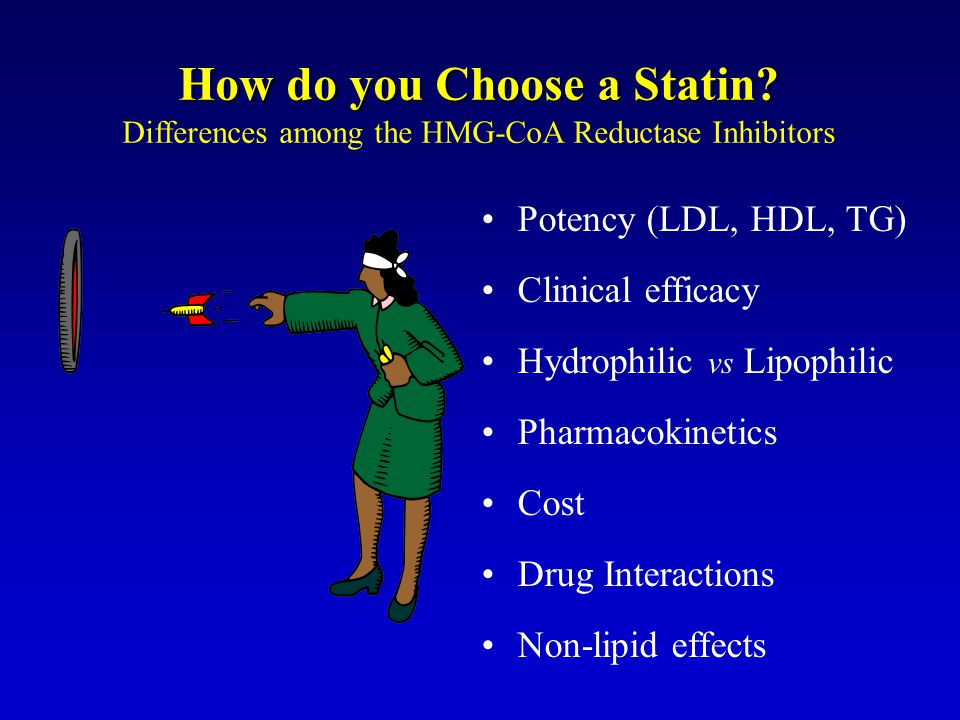 How do you Choose a Statin