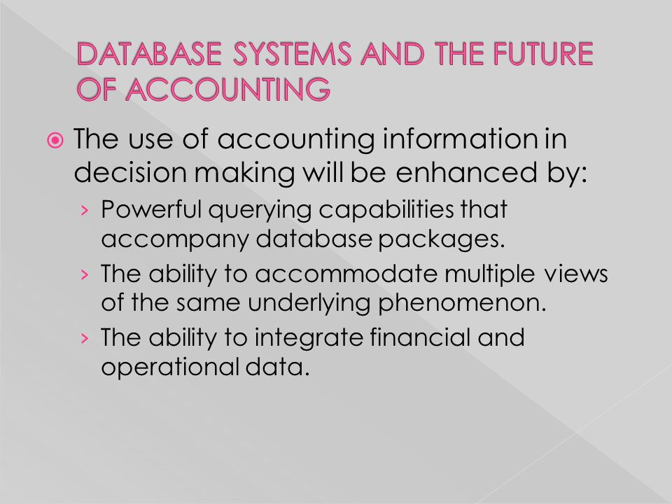"""the use of accounting information in decision making This is """"using financial accounting for wise decision making using financial accounting for wise decision accounting they want to use this information."""