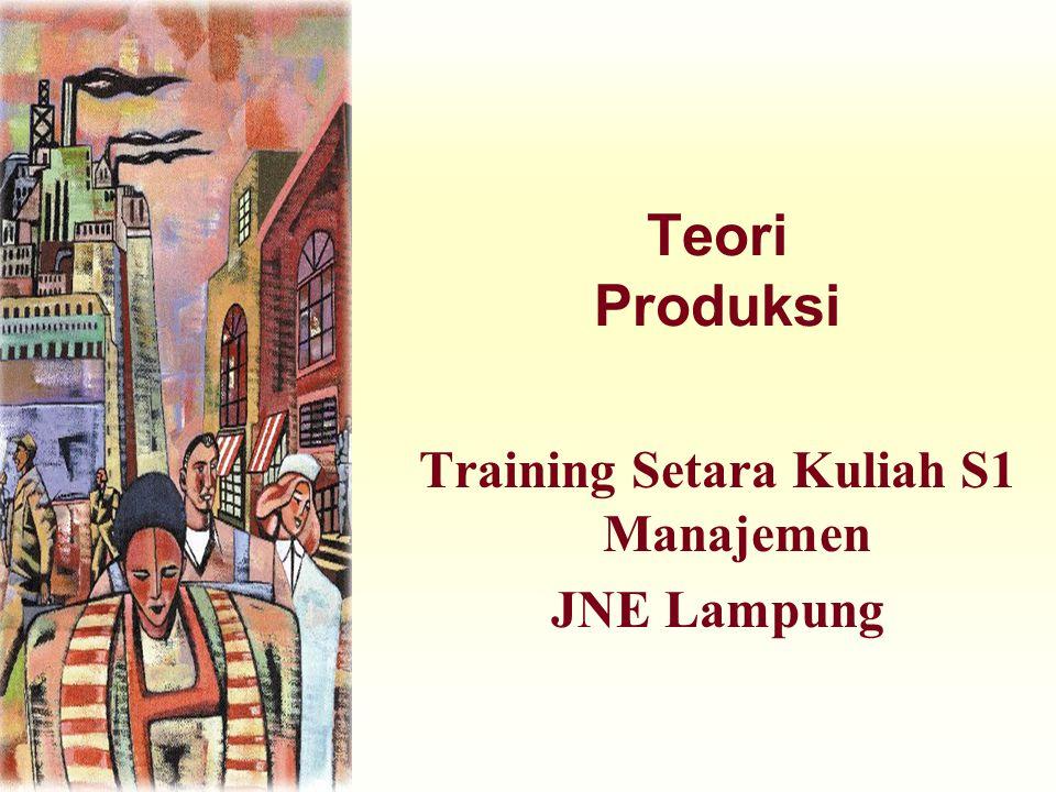 Training Setara Kuliah S1 Manajemen JNE Lampung