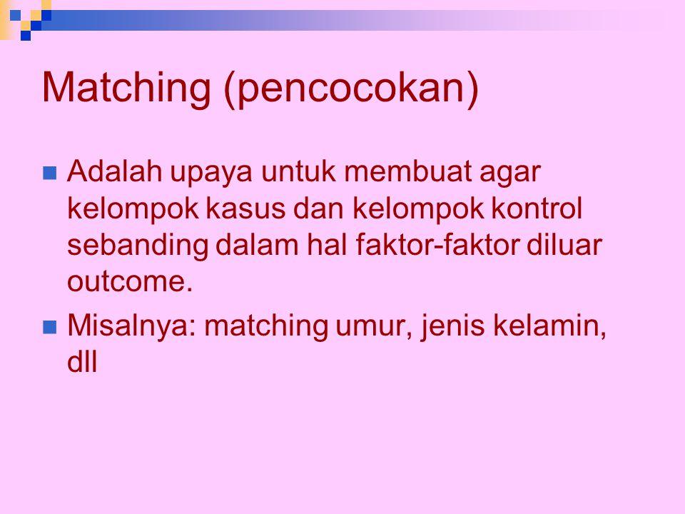 Matching (pencocokan)