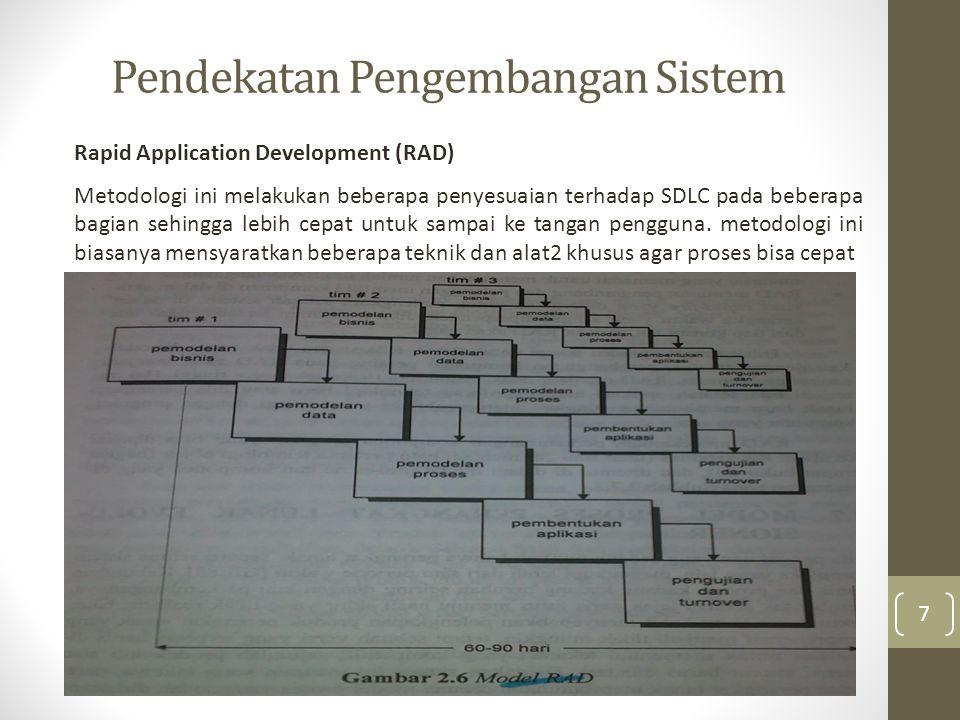 Pendekatan Pengembangan Sistem