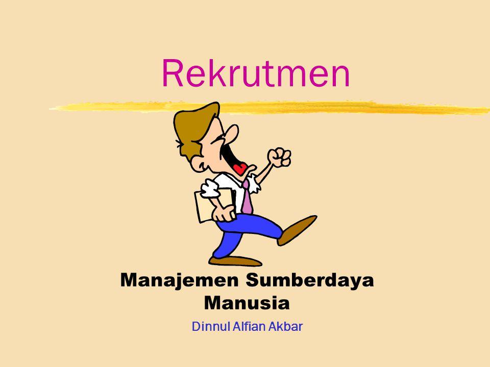 Manajemen Sumberdaya Manusia Dinnul Alfian Akbar