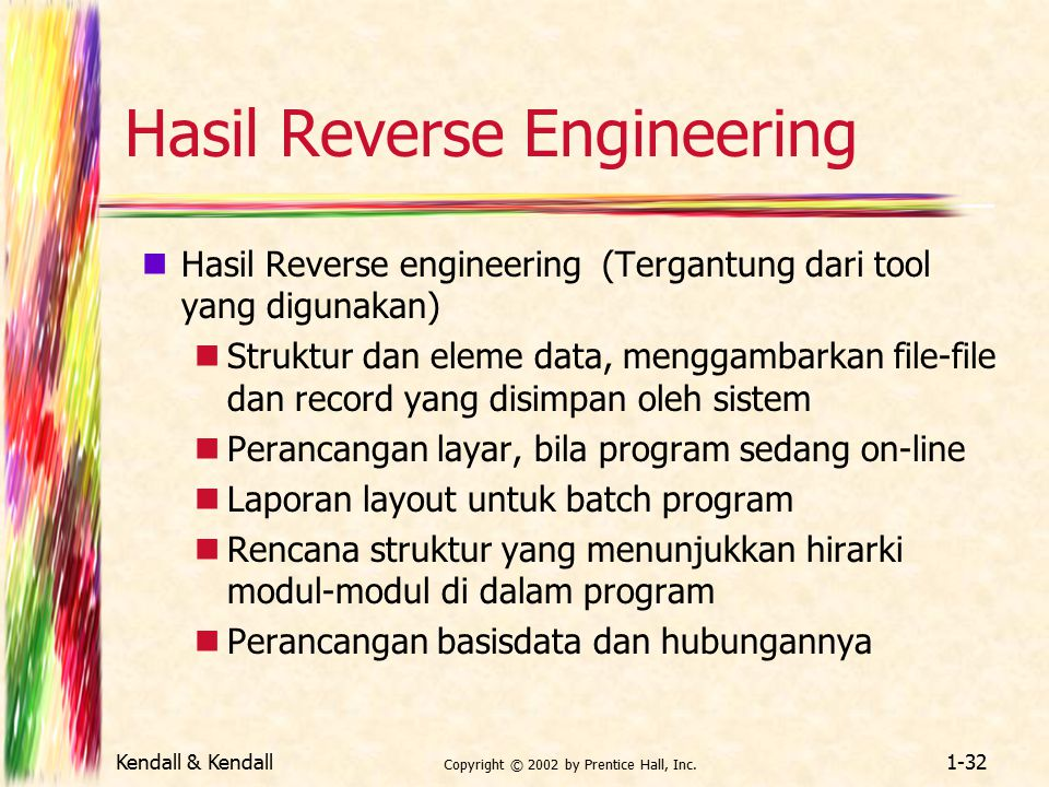 Hasil Reverse Engineering