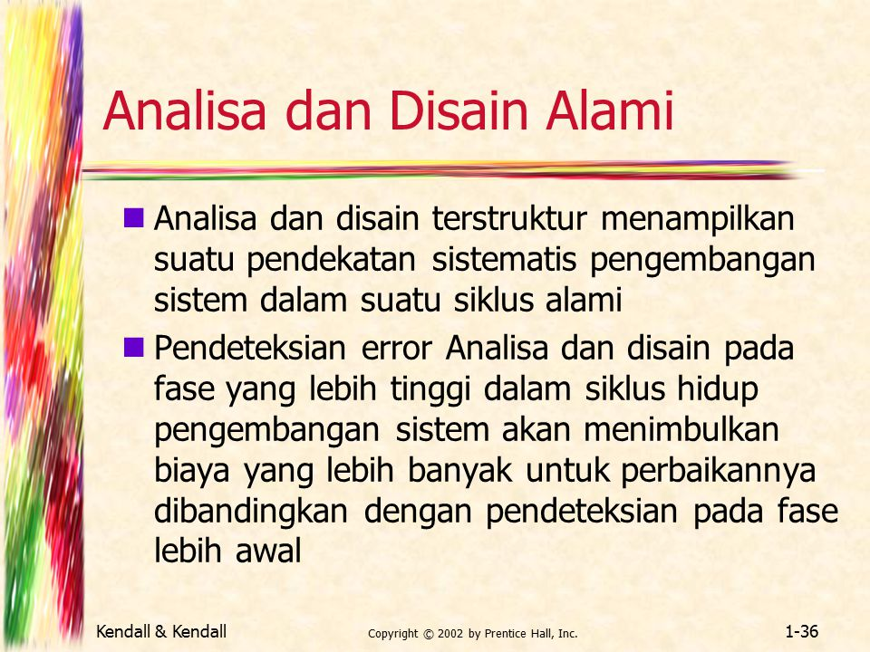 Analisa dan Disain Alami