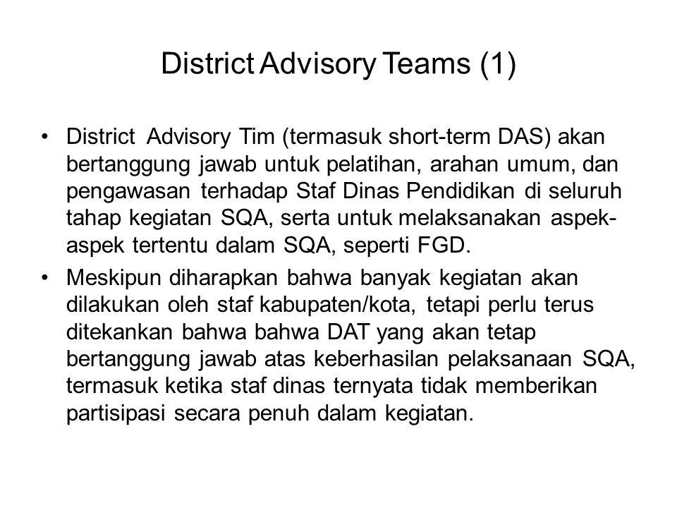 District Advisory Teams (1)