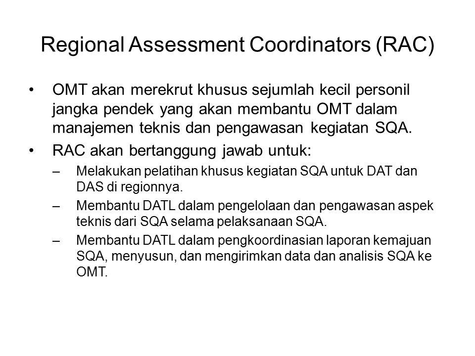 Regional Assessment Coordinators (RAC)