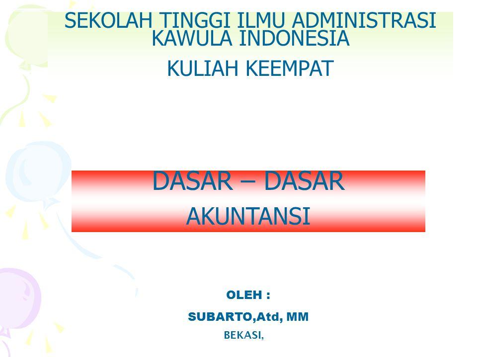 SEKOLAH TINGGI ILMU ADMINISTRASI KAWULA INDONESIA