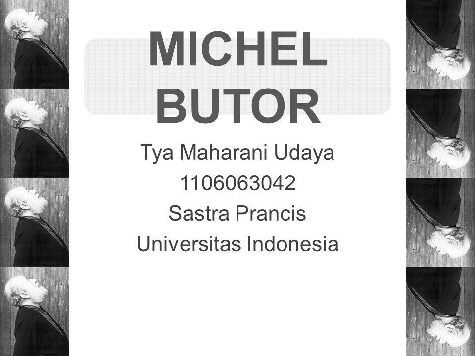 Tya Maharani Udaya 1106063042 Sastra Prancis Universitas Indonesia