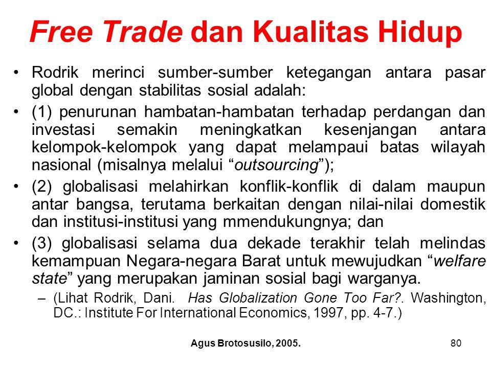 Free Trade dan Kualitas Hidup