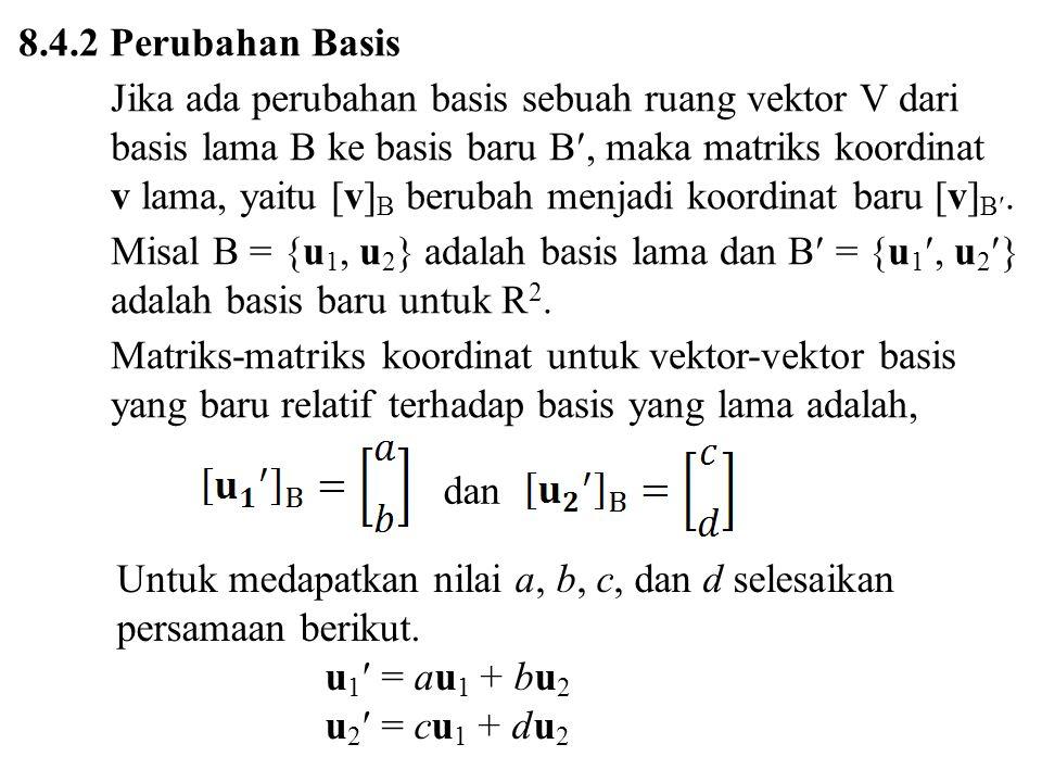 8.4.2 Perubahan Basis