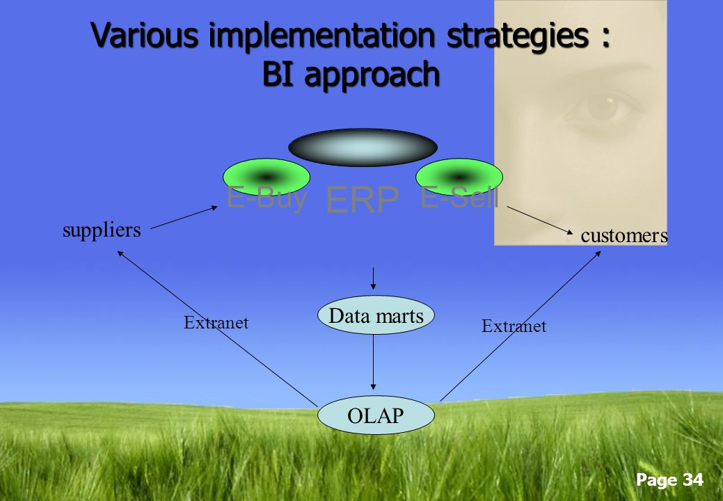 Various implementation strategies : BI approach