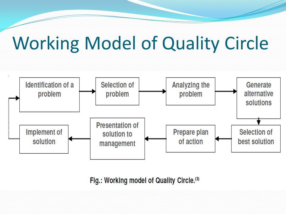 Working Model of Quality Circle