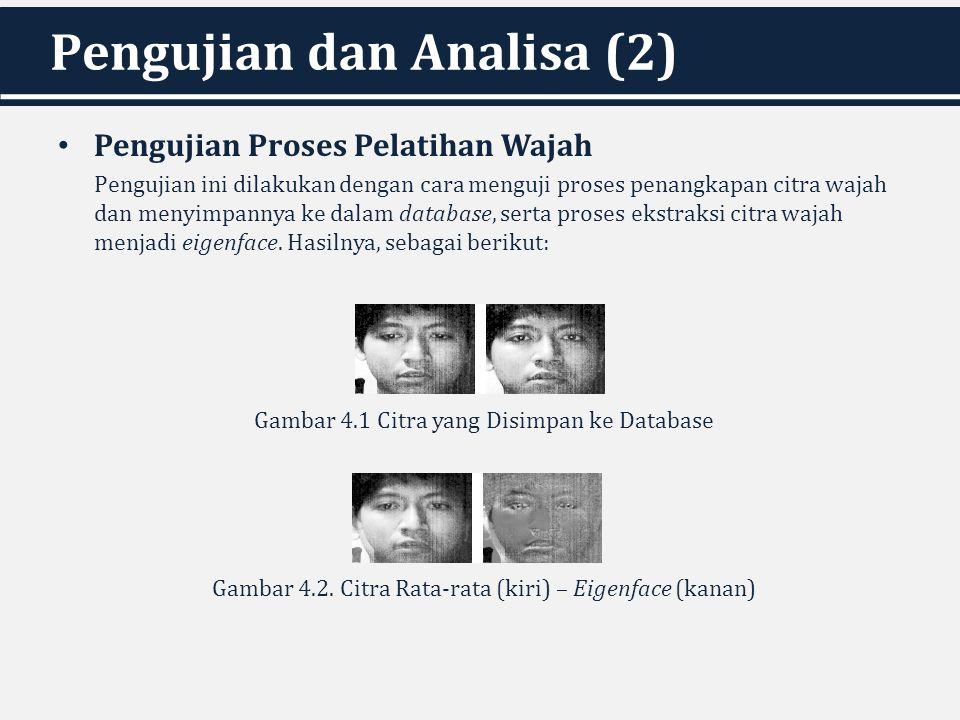 Pengujian dan Analisa (2)