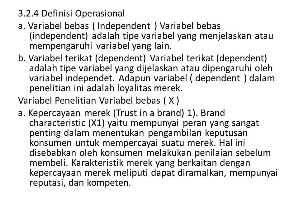3.2.4 Definisi Operasional
