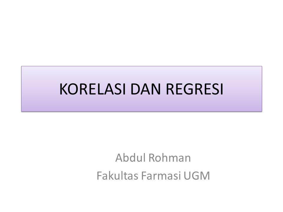 Abdul Rohman Fakultas Farmasi UGM