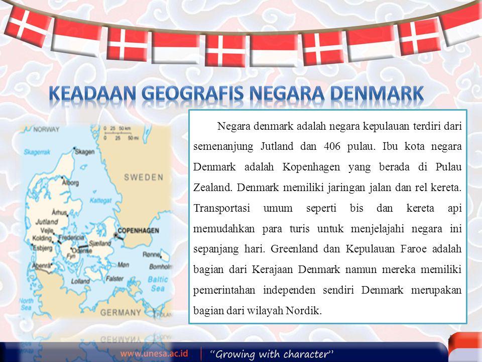 Keadaan Geografis Negara Denmark
