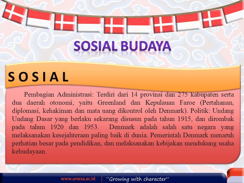 SOSIAL BUDAYA S O S I A L.