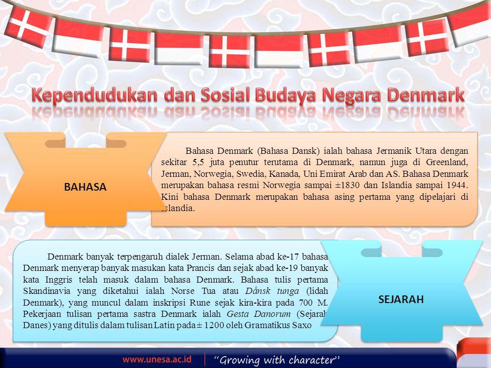 Kependudukan dan Sosial Budaya Negara Denmark
