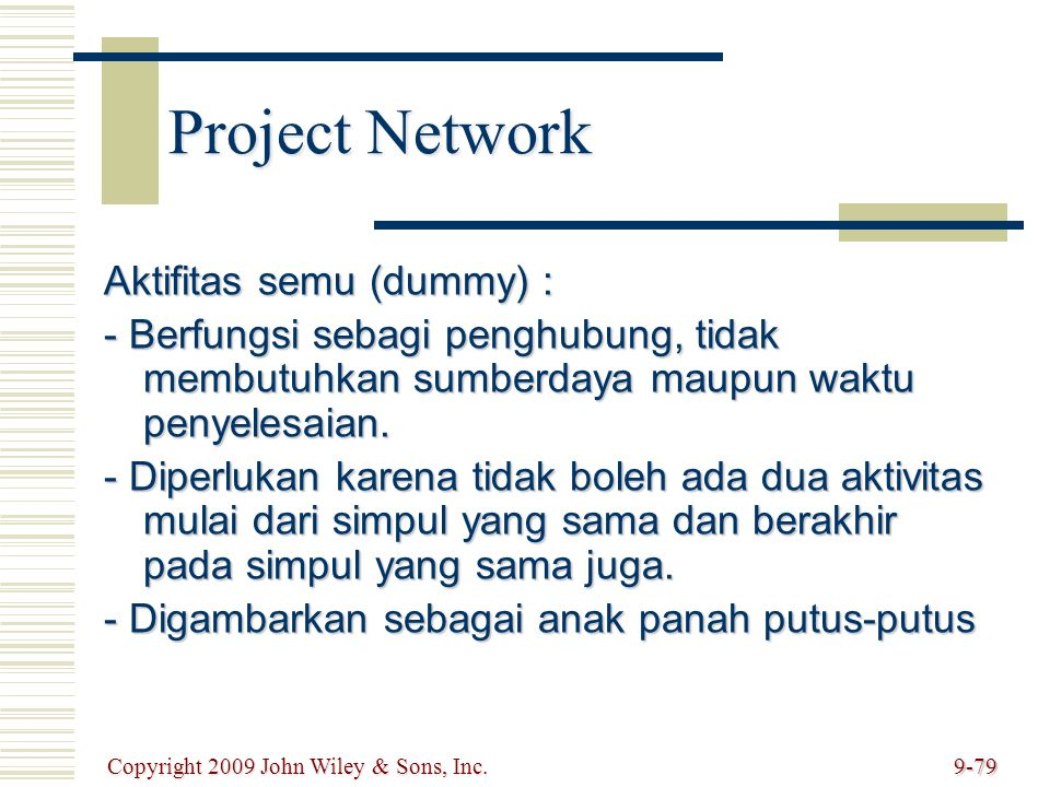 Project Network