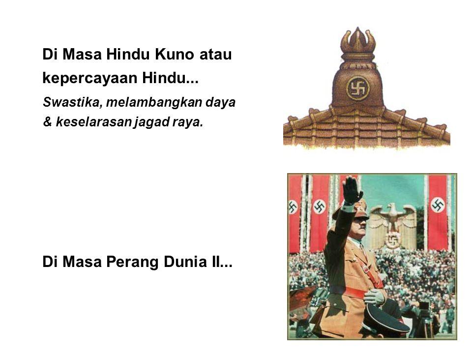 Di Masa Hindu Kuno atau kepercayaan Hindu...