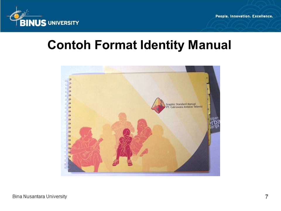 Contoh Format Identity Manual