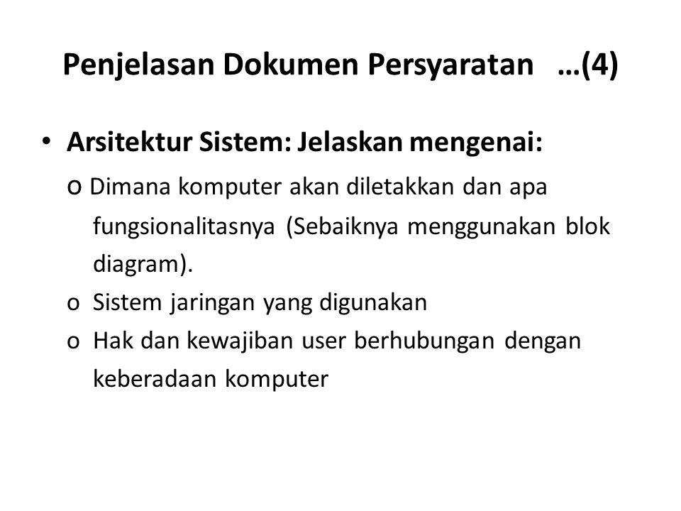 Penjelasan Dokumen Persyaratan …(4)