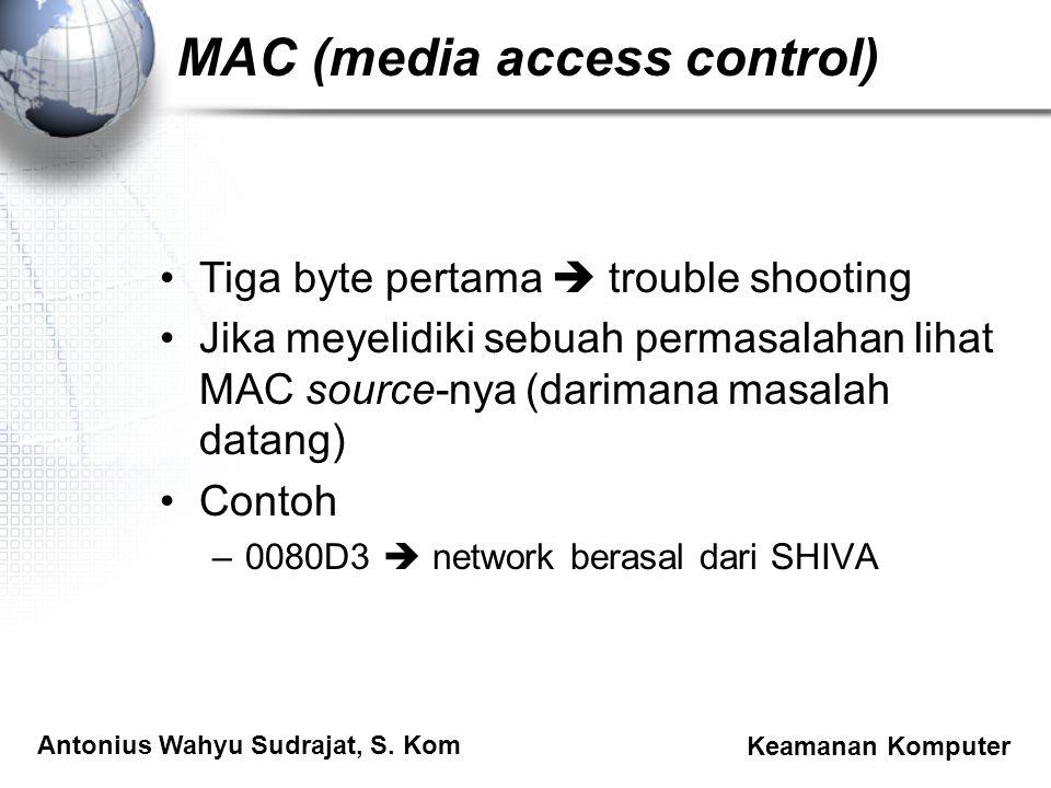 MAC (media access control)