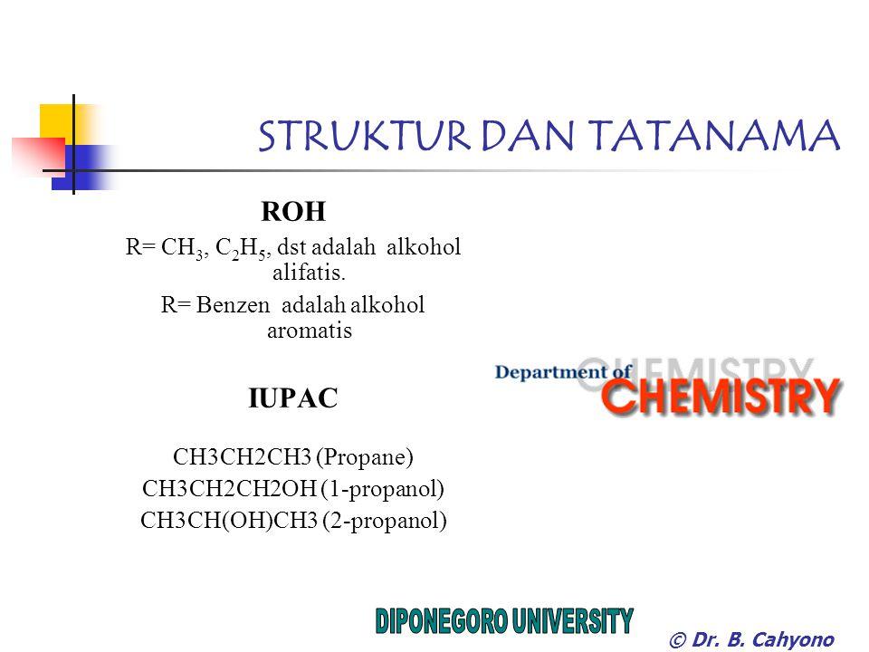 STRUKTUR DAN TATANAMA ROH IUPAC