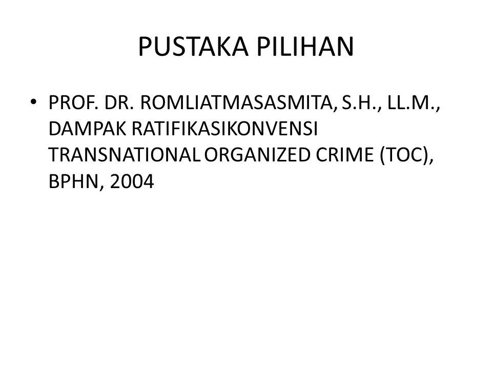 PUSTAKA PILIHAN PROF. DR.