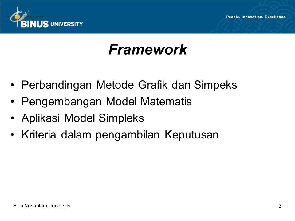 Framework Perbandingan Metode Grafik dan Simpeks