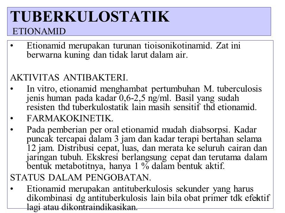 TUBERKULOSTATIK ETIONAMID