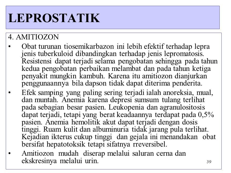 LEPROSTATIK 4. AMITIOZON