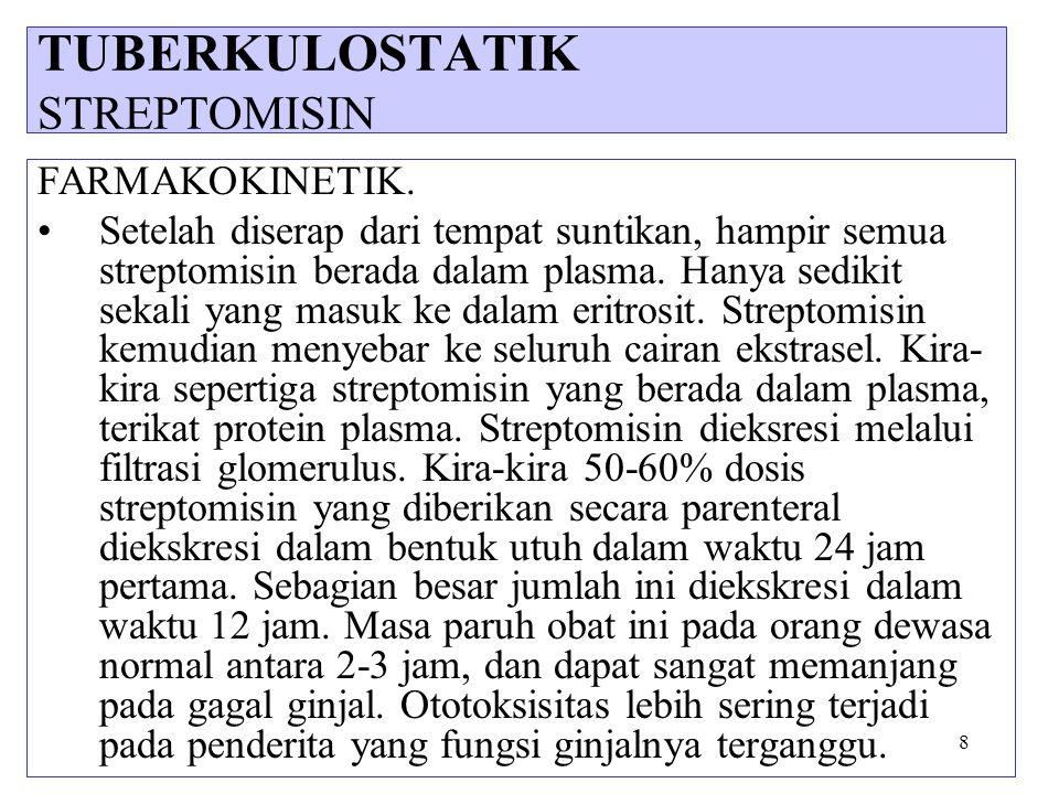 TUBERKULOSTATIK STREPTOMISIN
