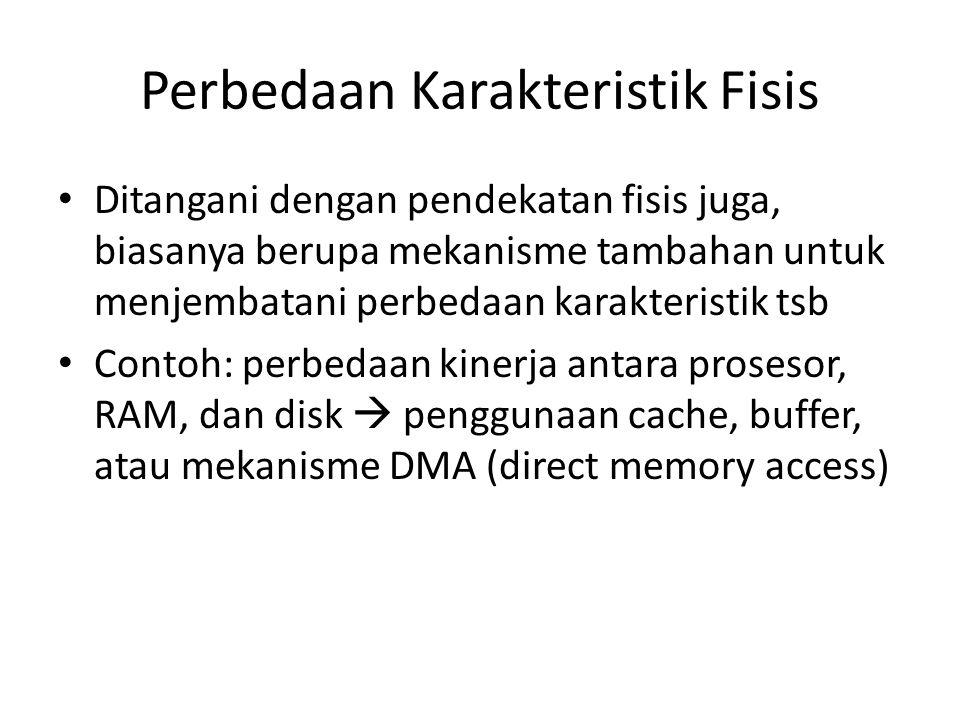 Perbedaan Karakteristik Fisis