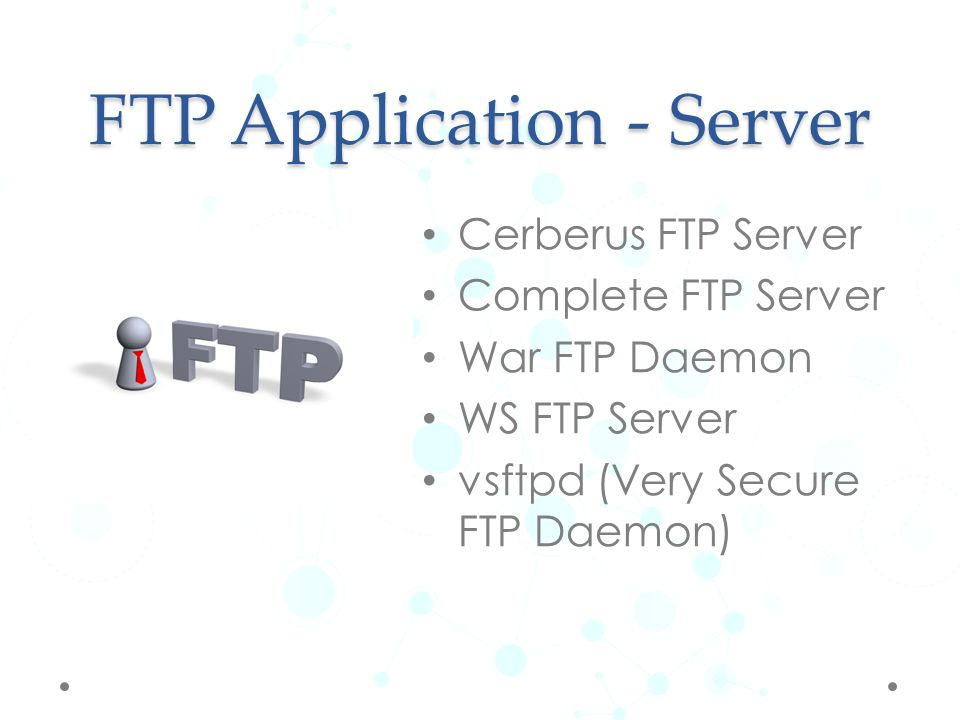 FTP Application - Server