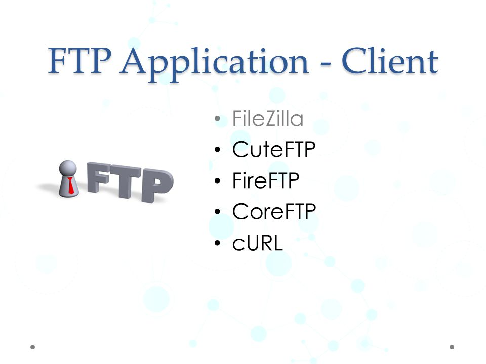 FTP Application - Client