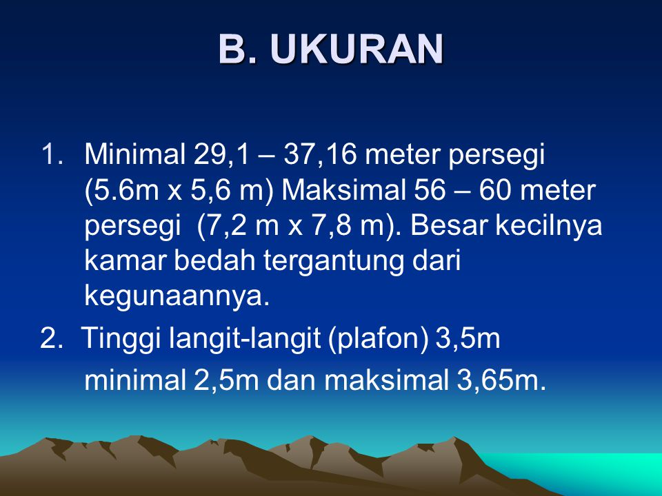 B. UKURAN