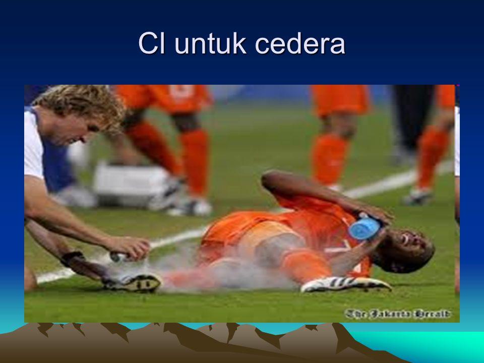 Cl untuk cedera
