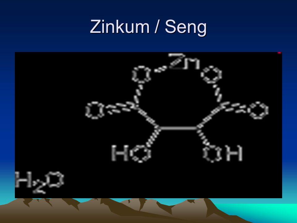 Zinkum / Seng
