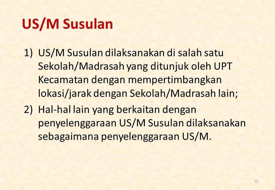US/M Susulan