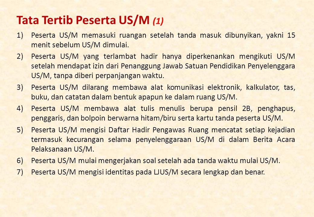 Tata Tertib Peserta US/M (1)