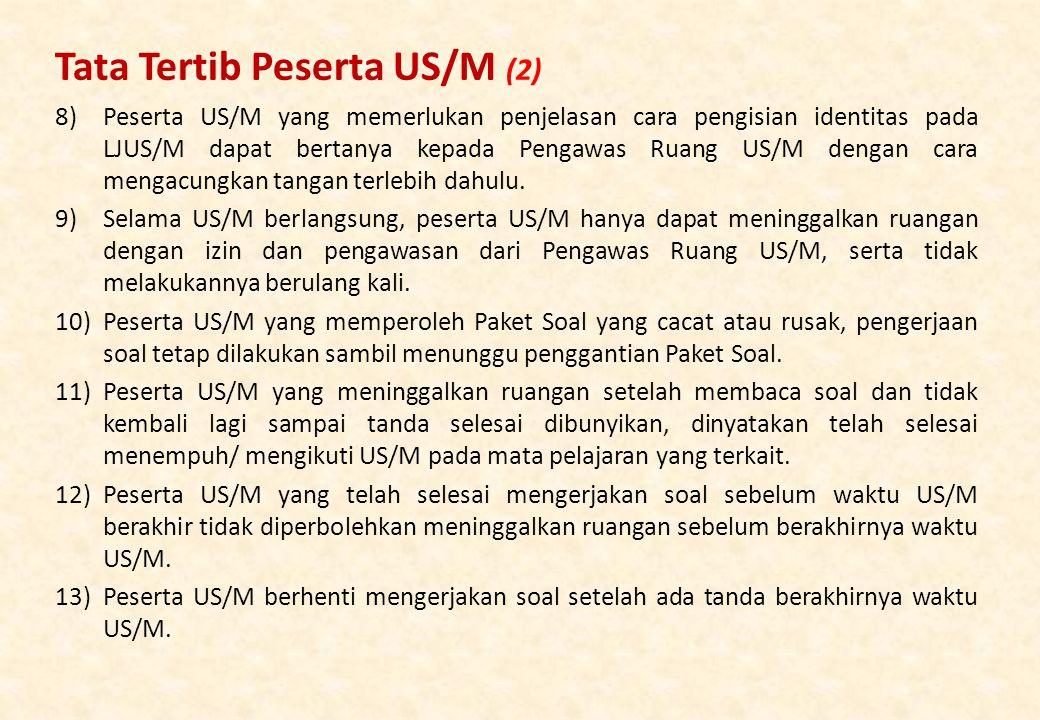 Tata Tertib Peserta US/M (2)