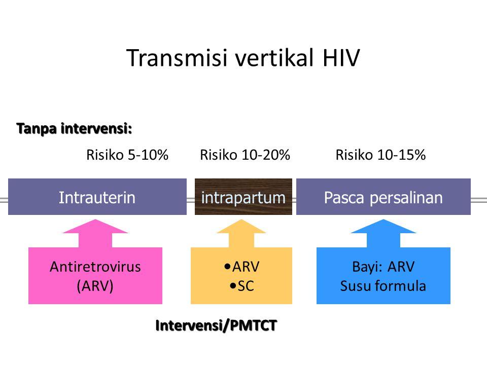 Transmisi vertikal HIV