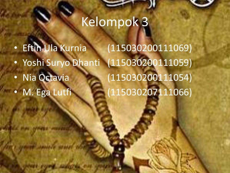 Kelompok 3 Eftin Ula Kurnia (115030200111069)