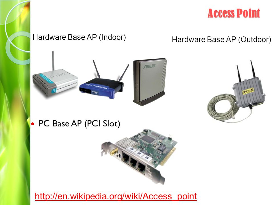 Access Point PC Base AP (PCI Slot)