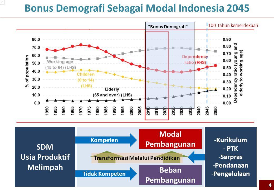 Bonus Demografi Sebagai Modal Indonesia 2045 Usia Produktif Melimpah