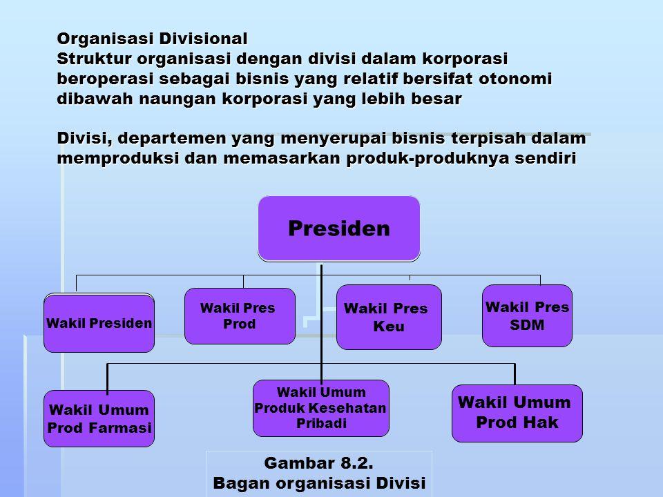 Bagan organisasi Divisi