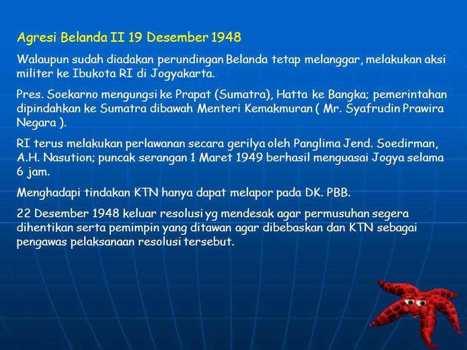 Agresi Belanda II 19 Desember 1948