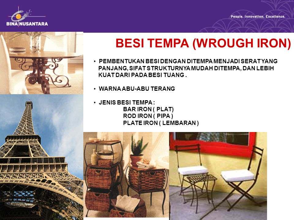 BESI TEMPA (WROUGH IRON)