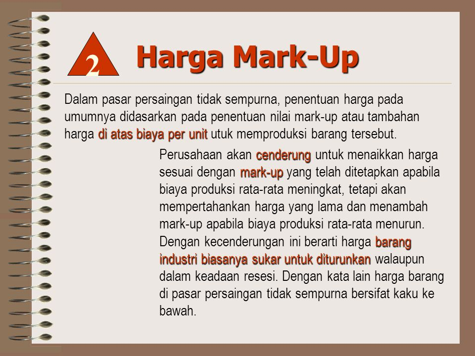 2 Harga Mark-Up.